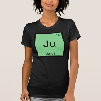 Julius  Name Chemistry Element Periodic Table T-Shirt
