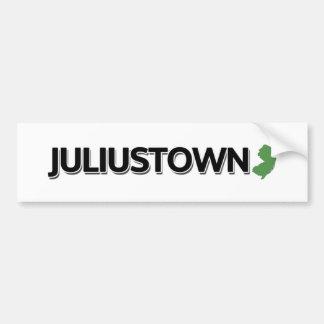 Juliustown, New Jersey Bumper Sticker