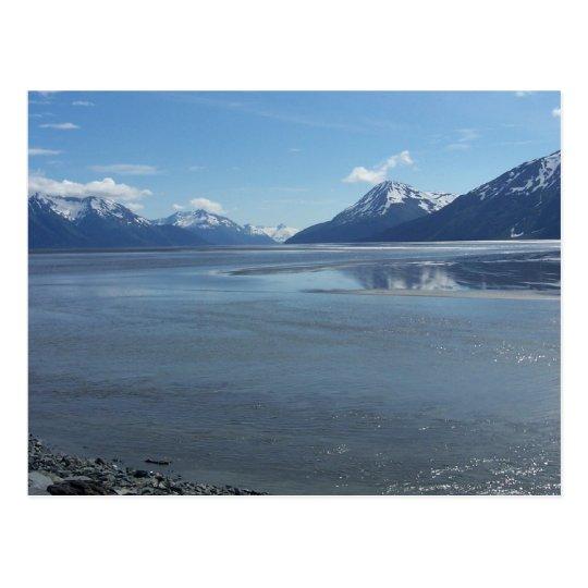 July 2008 Outside of Girdwood Alaska Cook Inlet Postcard