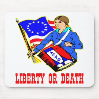 July 4, 1776 Liberty Or Death Independence Day Mouse Pad