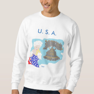 July 4 TH Men's Basic Sweatshirt / U.S.A.