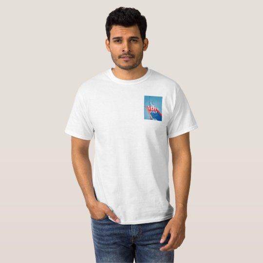 July 4th Awesome, stylish modern design t-shirt