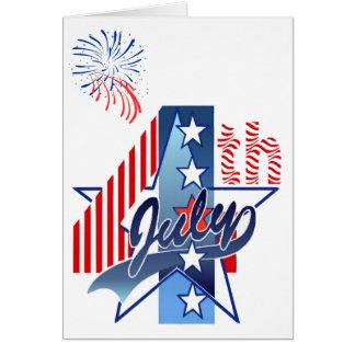 JULY 4th BIRTHDAY by SHARON SHARPE Card