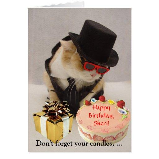 July 4th Birthday Greeting Card