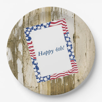 July 4th Cookout July 4th Party Paper Plates
