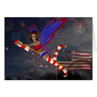 July 4th Fairy Card