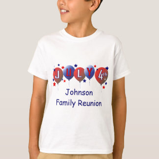 July 4th Family Reunion Kids T-shirt