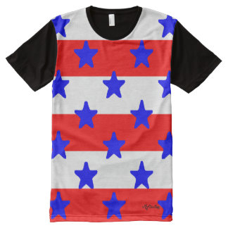 July 4th Holiday Stars & Stripes! TSHIRT