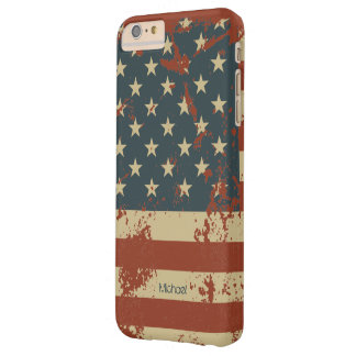 July 4th Independence Day America Grunge Flag Barely There iPhone 6 Plus Case