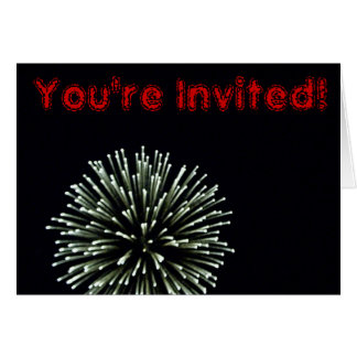 July 4th Invitation