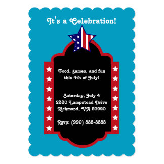 July 4th It's a Celebration Card