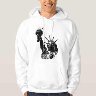 July 4th Liberty statue men hoodie