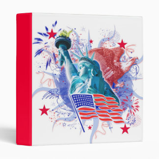 July 4th Patriotic Binder