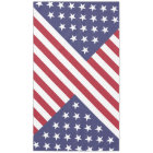 July 4th Picnic Stars and Stripes American Patriot Tablecloth
