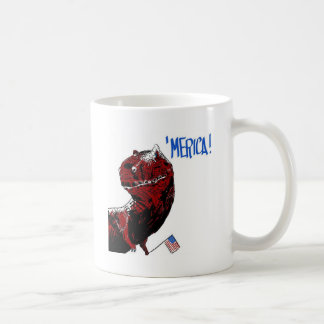 July 4th T Rex Coffee Mug