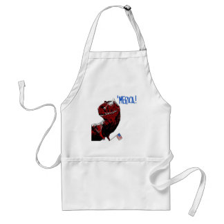 July 4th T Rex Standard Apron