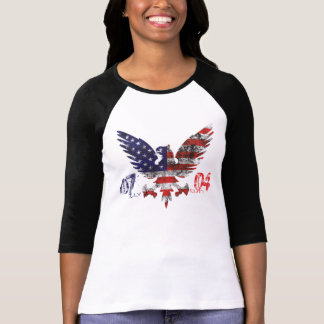July 4th t-shirt for women.