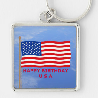 July 4th T-Shirts and Unique Gift Items Key Chain