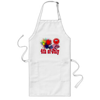 July 4th USA Long Apron