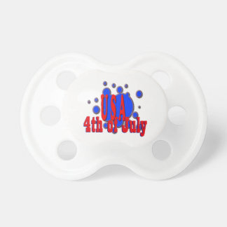 July 4th USA Pacifier