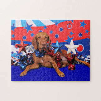July 4th - Vizsla - Reagan Puzzles