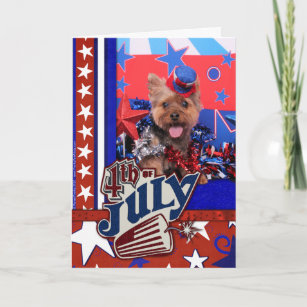 July 4th - Yorkie - Jake Card