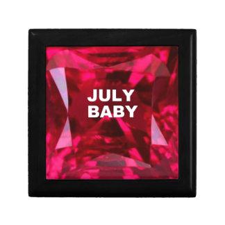 JULY BABY Ruby Birthstone.by sharles Gift Box