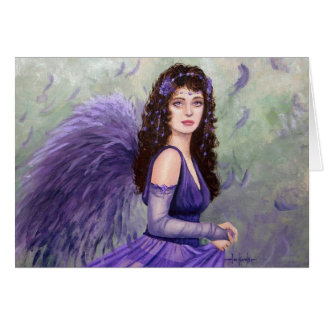 July Fairy by Fantasy Artist Lori Karels Card