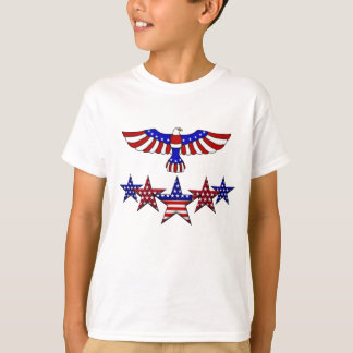 July Fourth Patriotic preteen t-shirt
