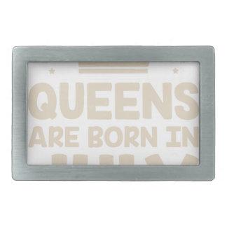 July Queen Belt Buckle