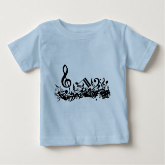 Jumbled Musical Notes T-Shirt