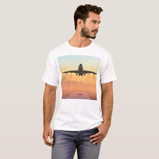 Jumbo 747 of landing attitude T-Shirt