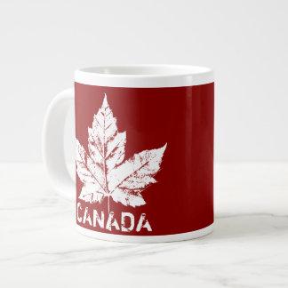 Jumbo Canada Coffee Cup Mug Cool Retro Canada Cup