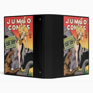 Jumbo Comics 3 Ring Binders