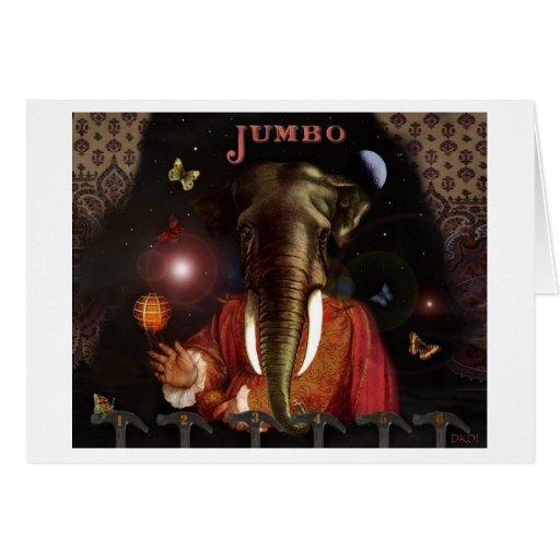 Jumbo greeting card zazzle