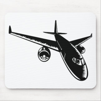 jumbo jet plane airplane aircraft flying flight mouse pads