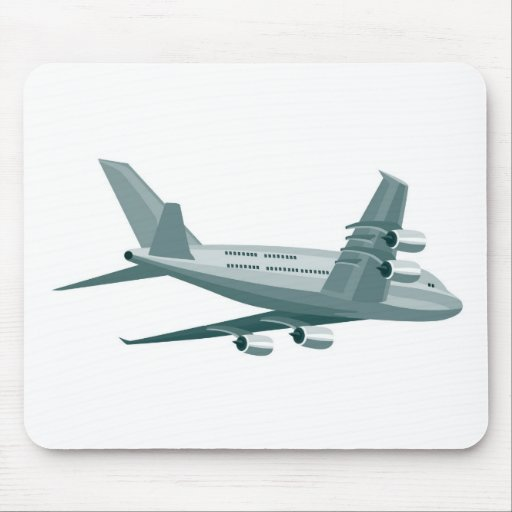 jumbo jet plane airplane aircraft flying flight mousepads