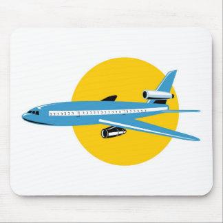 jumbo jet plane airplane aircraft mouse pads