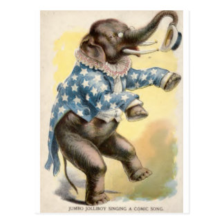 Jumbo Jolly Boy Postcard