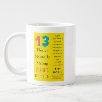 Jumbo Mentally Strong Parents Don't Do Mug