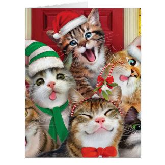 Jumbo Merry Christmas to Zoo Christmas Card