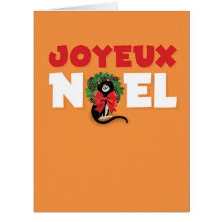 Jumbo Merry Pets Christmas Card
