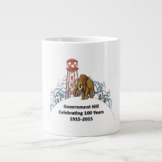 Jumbo Mug - 100th Year & Woolly Mammoth