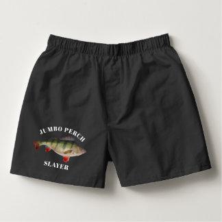 Jumbo Perch Funny Fishing Underwear Boxers