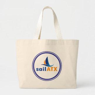 Jumbo sailing tote - sailATX Logo