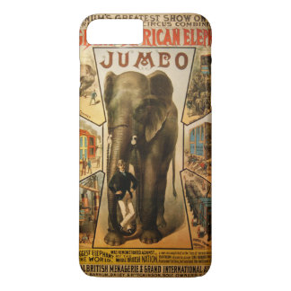 Jumbo, The Giant African Elephant iPhone 8 Plus/7 Plus Case