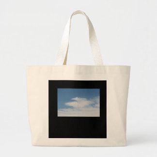 JUMBO TOTE BAG BLUE SKY AND CLOUDS