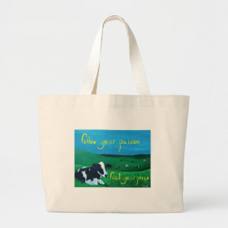 """Jumbo tote bag """"Follow your Passion"""""""