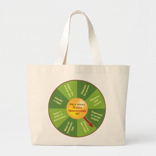 "Jumbo Tote bag, ""WWMMD?"""