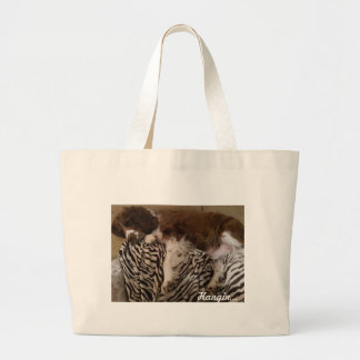Jumbo tote/humorous large tote bag